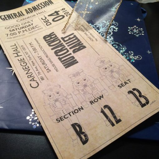 Ballet Ticket Nutcracker
