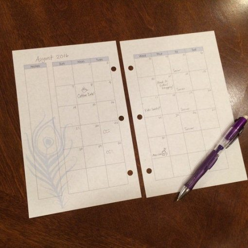 Perpetual Half Monthly- penciled in
