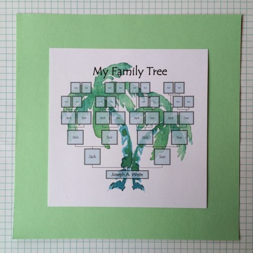 editable family tree