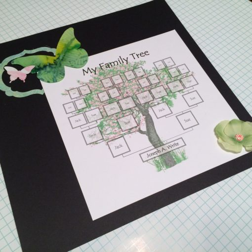 printable editable family tree template