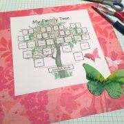 printable family tree