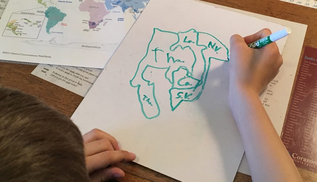 Tracing geography