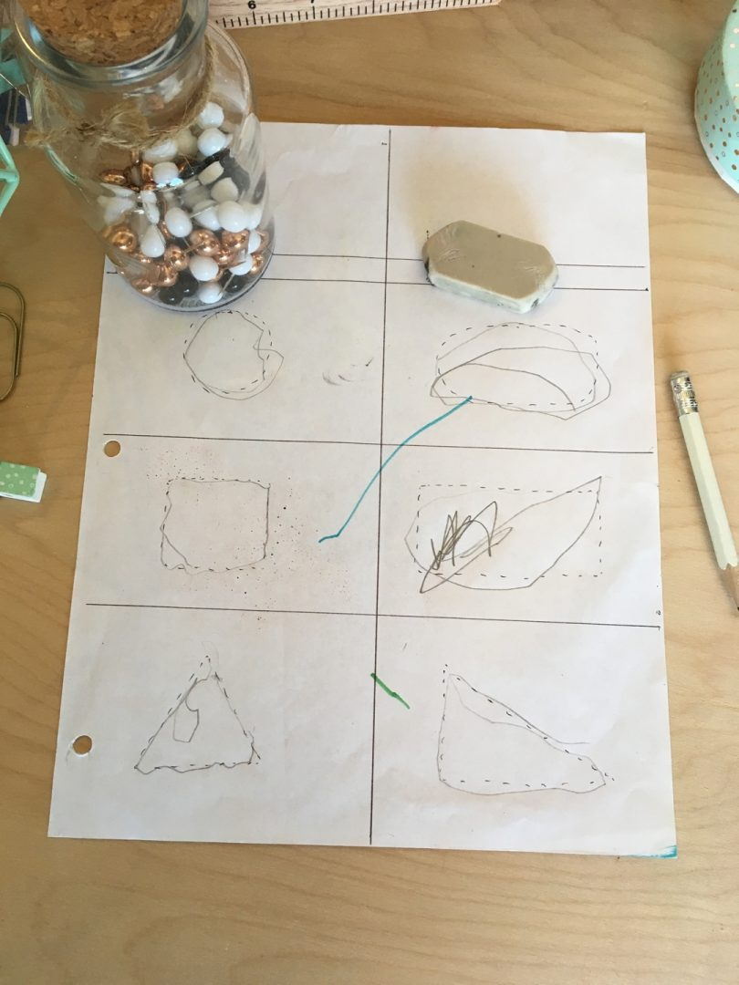 Tracing starts in preschool