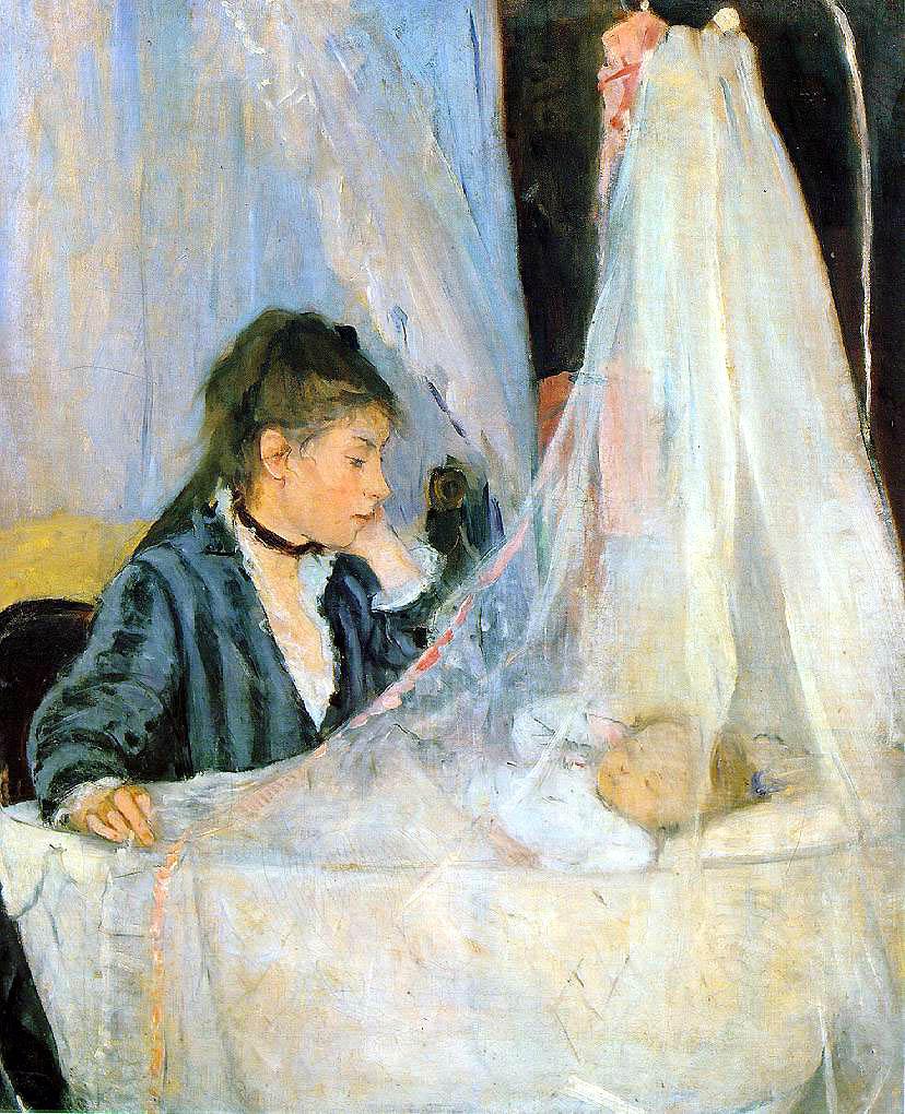 Berthe Morisot- The Cradle