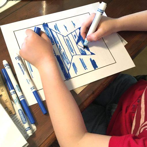 Art curriculum optical illusion