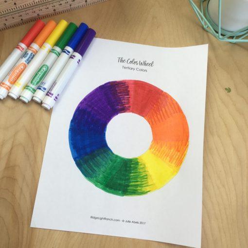 Crayola Color Wheel
